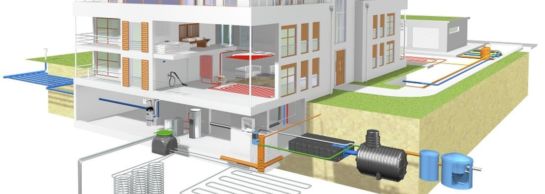 központi porszívó rendszerek kivitelezése, csapadékvíz gyűjtő rendszerek kivitelezése, fűtéskorszerűsítések, fürdőszoba felújítások, vízvezeték- és csatornarendszerek rekonstrukciói, épületenergetikai pályázati dokumentáció készítése